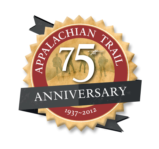 Appalachian Trail 75th Anniversary Logo