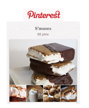 Oh, Ranger! S'mores board on Pinterest