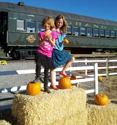Pumpkin Patch at Grand Canyon Railway