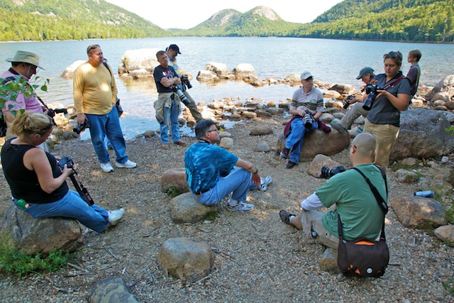 Canon Photography in the Parks at Acadia National Park