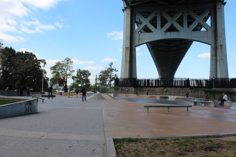 Astoria Park Skate Park. Photo by Kacey Herlihy