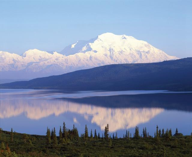 Mt McKinley Wonder Lake