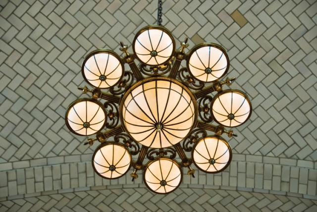 Ellis Island Lighting Fixture