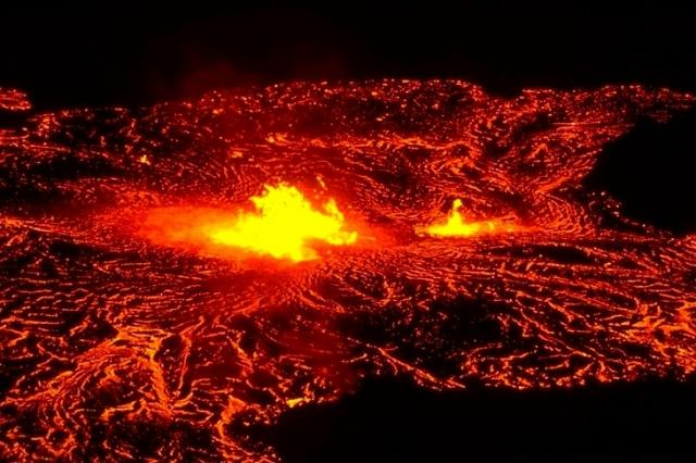 Hawaii Volcanoes, 1837