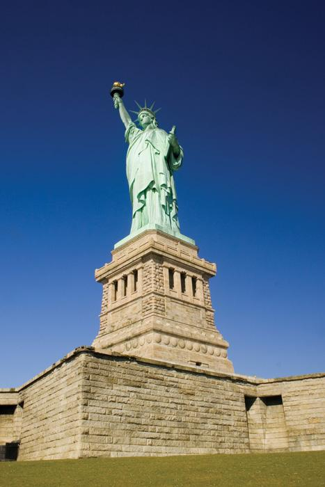 Statue of Liberty, Blue Sky