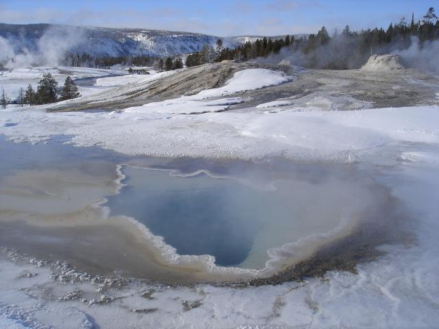 Dec 2009 - Old Faithful Geyer Basin