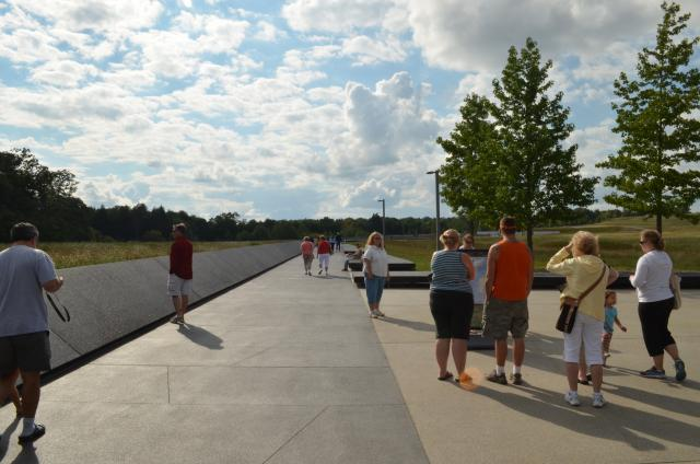 Memorial Plaza Walkway at Flight 93 National Memorial