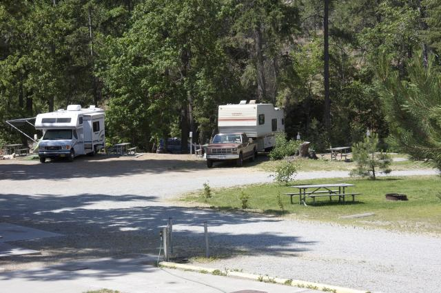 The Campground at Twenty-Five Mile State Park