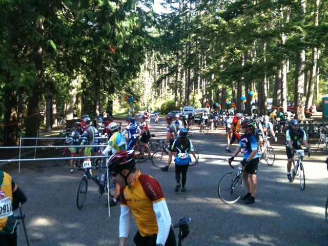 Lunch Break for Riders
