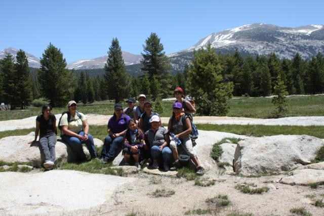 Tuolumne River Trust Youth Adventures at Tuolumne Meadows