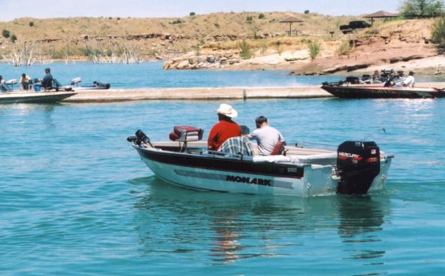 Boating on the lake ute lake nm oh ranger for Conchas lake fishing report
