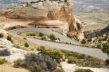 Colorado : Winding Road through Colorado National Monument
