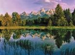 Grand Teton : Mountain Reflection 2
