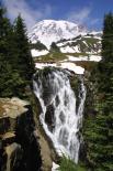 Mt.  Rainier : Mt Rainier Myrle Falls