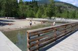 Twenty-Five Mile Creek (WA) : Swimming Area and Dock