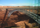 Glen Canyon : Bridge at Glenn Canyon