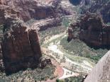 Zion : A view from a rock