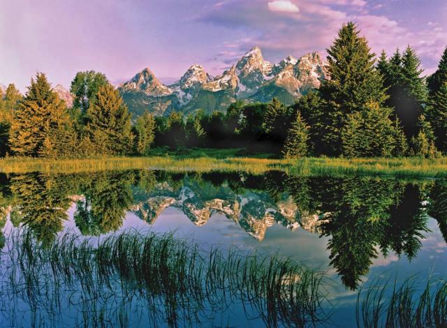 Mountain Reflection 2