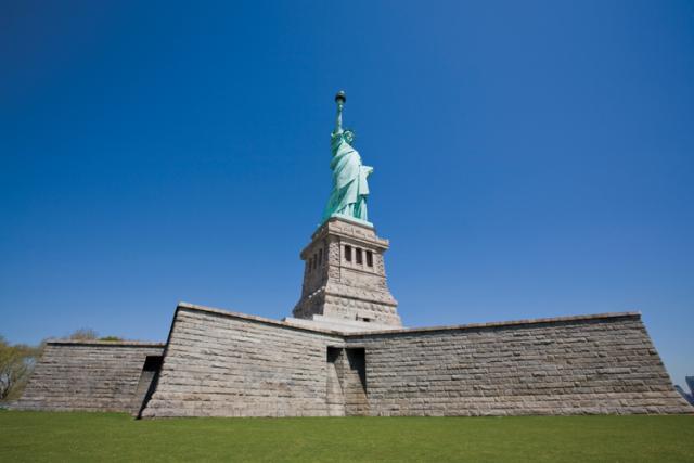 Statue of Liberty, Wide Angle