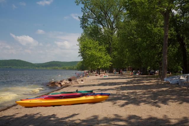 Sand Bar Kayaks On The Beach
