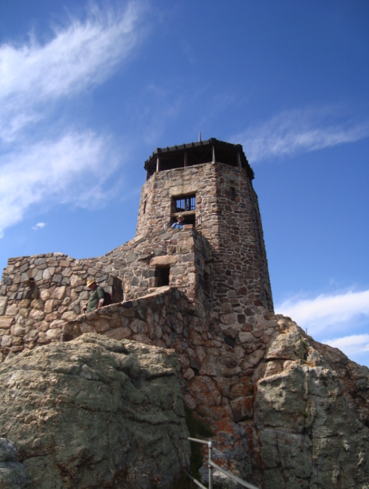 Lookout Tower at Harney Peak