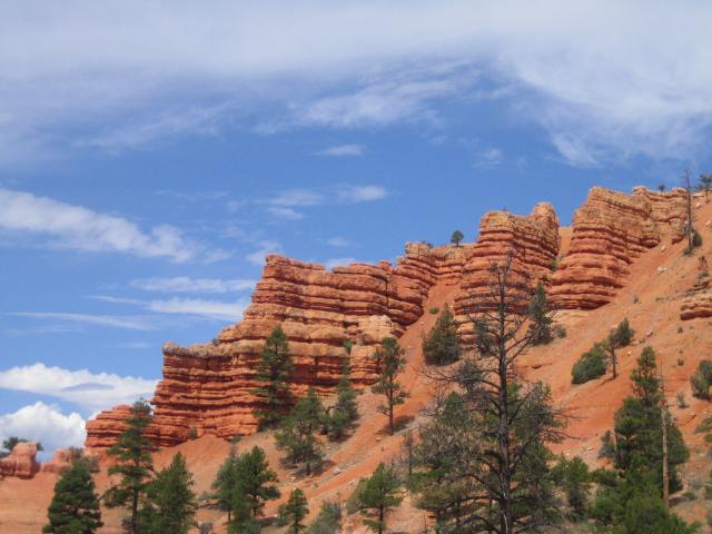 Bryce from the road