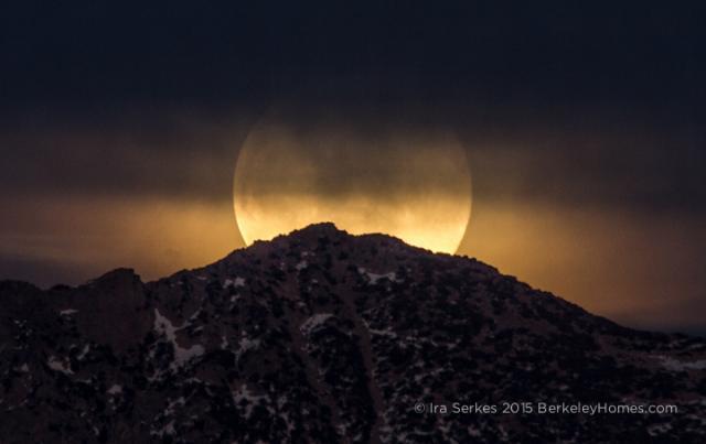 Moon Rise Over Yosemite