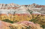 Badlands : Colored Hills