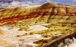 John Day : Striations in the Painted Hills