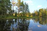 Lowell Lake (VT) : Lowell Lake reflections